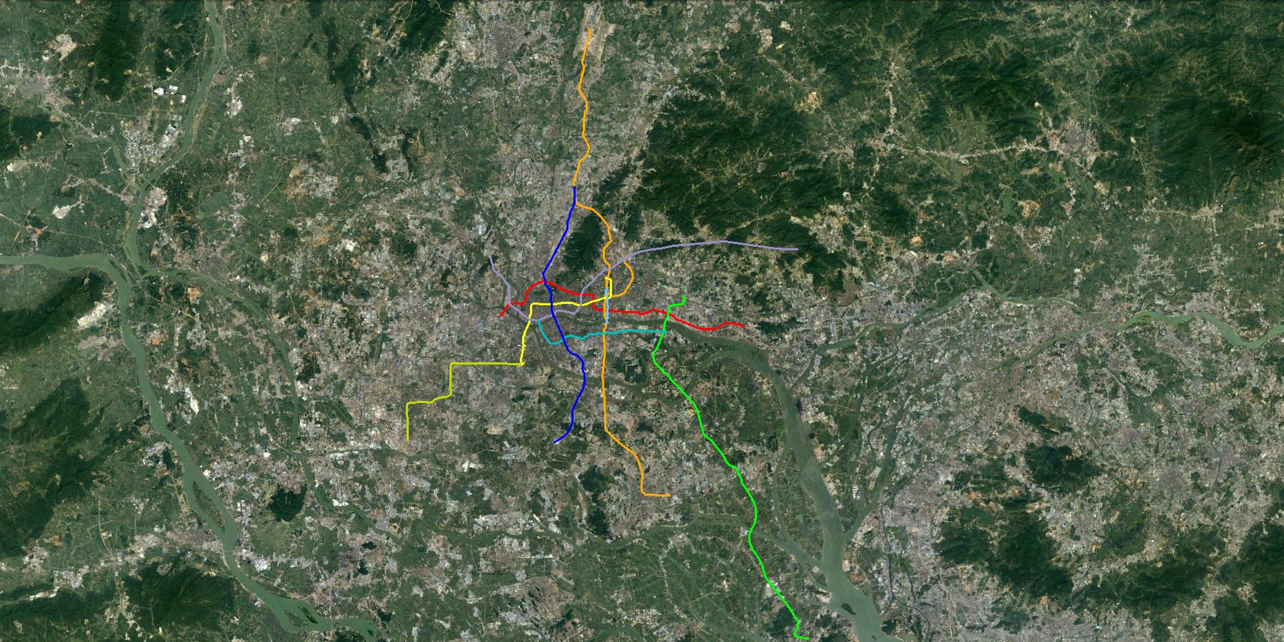Urba world transport metro guangzhou