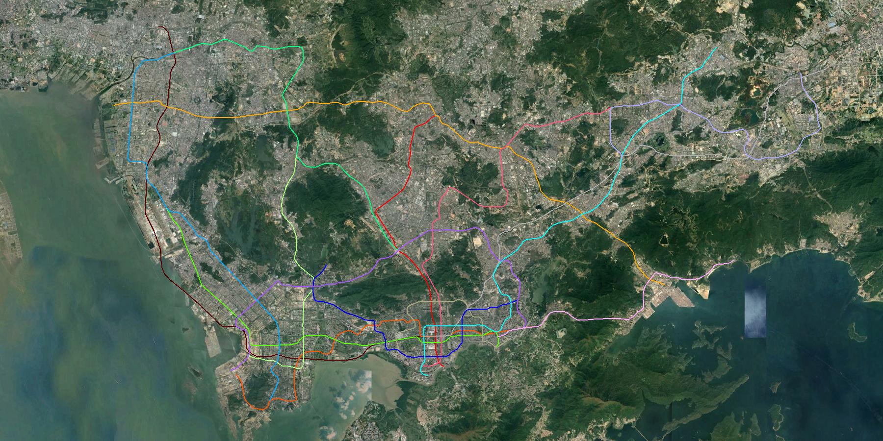 URBA-World-TRANSPORT-METRO-Shenzhen